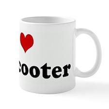 I Love my scooter Mug