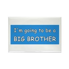 I'm going to be a BIG BROTHER Rectangle Magnet