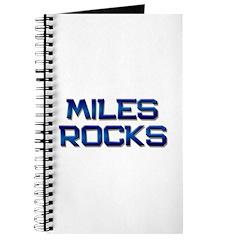 miles rocks Journal