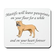 Mastif Pawprints Mousepad