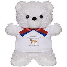 Mastif Pawprints Teddy Bear