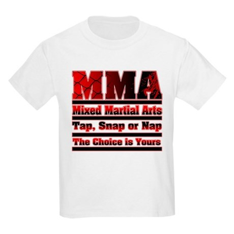 MMA - Mixed Martial Arts Kids Light T-Shirt