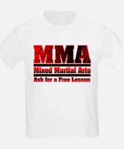 MMA - Ask for a Free Lesson T-Shirt