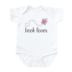 Cute Book Lover Infant Bodysuit