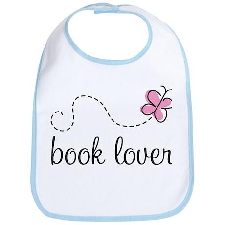 Cute Book Lover Bib