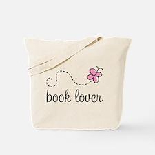 Cute Book Lover Tote Bag
