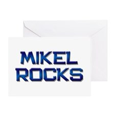 mikel rocks Greeting Card