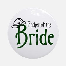 Father of the Bride's Ornament (Round)
