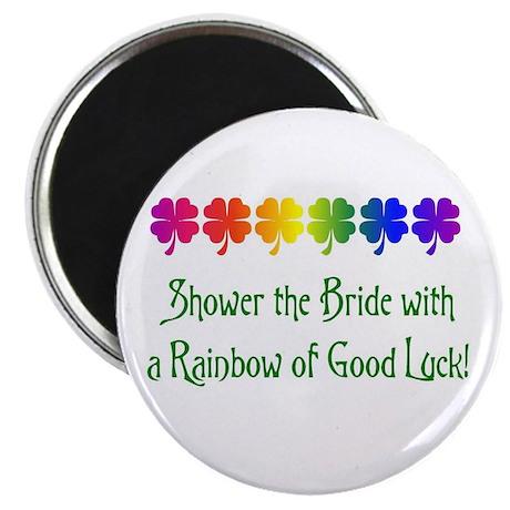 Rainbow Shower Magnet