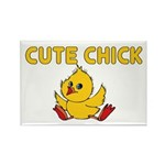 Cute Chick Rectangle Magnet (100 pack)