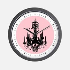 INSPIRATIONAL CHANDELIER Wall Clock