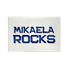 mikaela rocks Rectangle Magnet