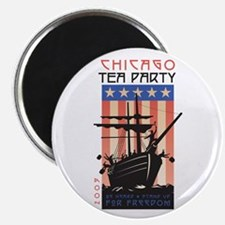 Chicago Tea Party 2009 Magnet