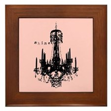 INSPIRATIONAL CHANDELIER Framed Tile