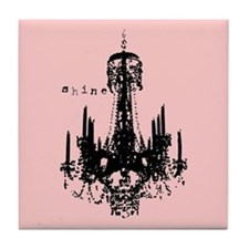 INSPIRATIONAL CHANDELIER Tile Coaster