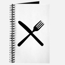 cutlery - knife and fork Journal