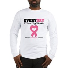 Breast Cancer Miss Mother Long Sleeve T-Shirt