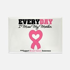 Breast Cancer Miss Mother Rectangle Magnet
