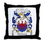 Nielsen Coat of Arms Throw Pillow