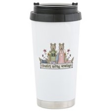 Spring Country Bears Travel Mug