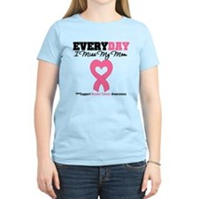Breast Cancer Miss Mom T-Shirt