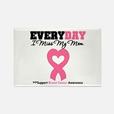 Breast Cancer Miss Mom Rectangle Magnet