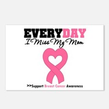 Breast Cancer Miss Mom Postcards (Package of 8)