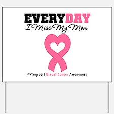 Breast Cancer Miss Mom Yard Sign