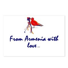 From Armenia with Love Postcards (Package of 8)