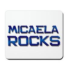 micaela rocks Mousepad