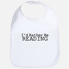 Rather Be Reading Bib