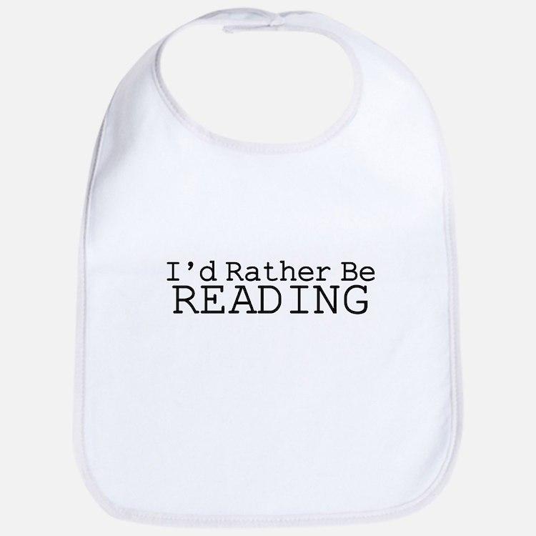 Rather Be Reading Bib