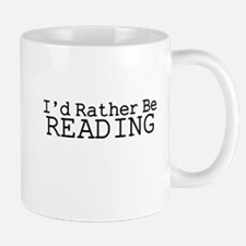 Rather Be Reading Mug