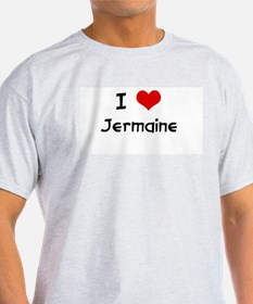 I LOVE JERMAINE Ash Grey T-Shirt