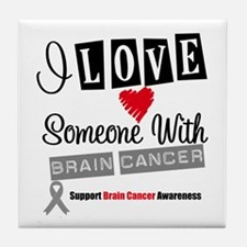 Brain Cancer Support Tile Coaster