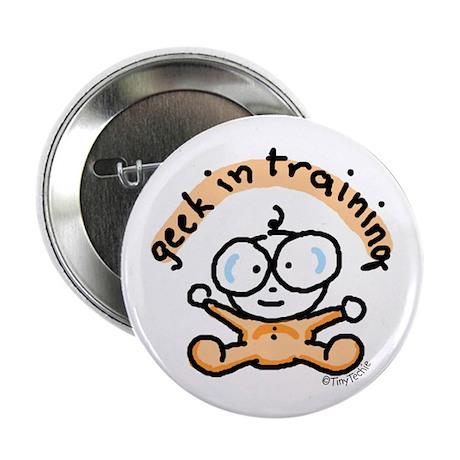 Geek in Training Button