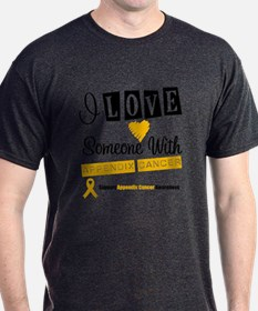 Appendix Cancer Support T-Shirt