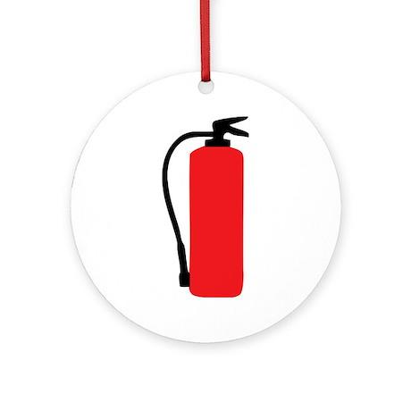 fire extinguisher Ornament (Round)