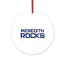 meredith rocks Ornament (Round)