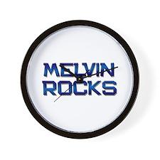 melvin rocks Wall Clock