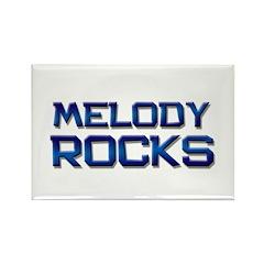 melody rocks Rectangle Magnet