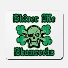 Shamrock Green Pirate Mousepad