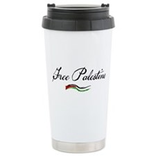 Cute Arabic palestine Travel Mug