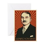 Ludwig von Mises Greeting Card