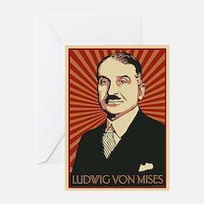 Ludwig von Mises Greeting Card