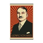 Ludwig von Mises Mini Poster Print