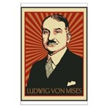 Ludwig von Mises Large Poster