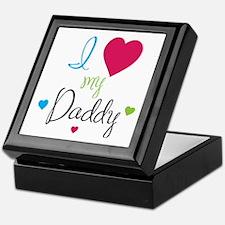 I love my Daddy! Keepsake Box