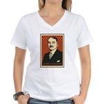 Ludwig von Mises Women's V-Neck T-Shirt