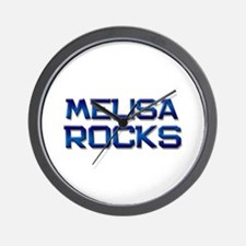melisa rocks Wall Clock